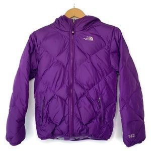 The North Face Purple Reversible Winter Jacket